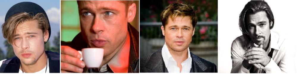Quatre générations de Brad Pitt pour le prix d'une ! En 20 ans de cinéma, Brad n'a qu'une unique expression faciale. Et il est beaucoup moins rigolo que son copain George. What else ?