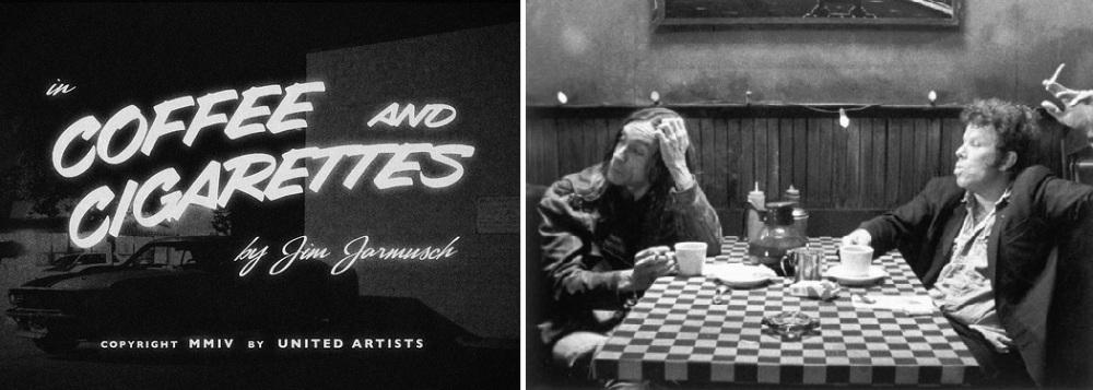 """Excellent film de Jim Jarmunch, """"Coffee and Cigarettes"""" saura vous expliquer tout l'intérêt d'un café-clope dans une série de sketches..."""