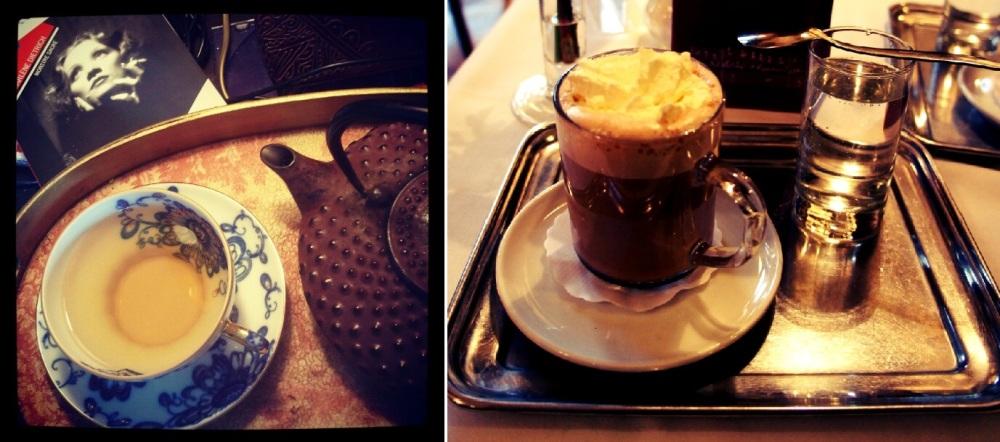 Thé versus Café Viennois, autre quintessence autrichienne...