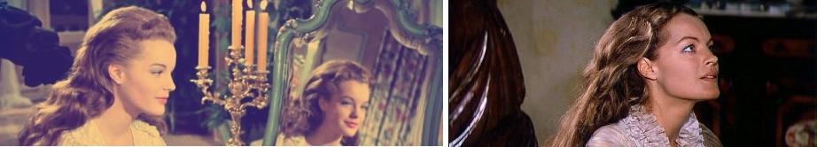 15 ans séparent ces deux photos et ces deux impératrices radicalement différentes. A l'annonce de Romy dans son rôle fétiche, la presse allemande cru a une plaisanterie...