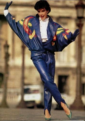 Stéphanie de Monaco à son apogée... non, elle n'a pas avalé le costume de Superman...