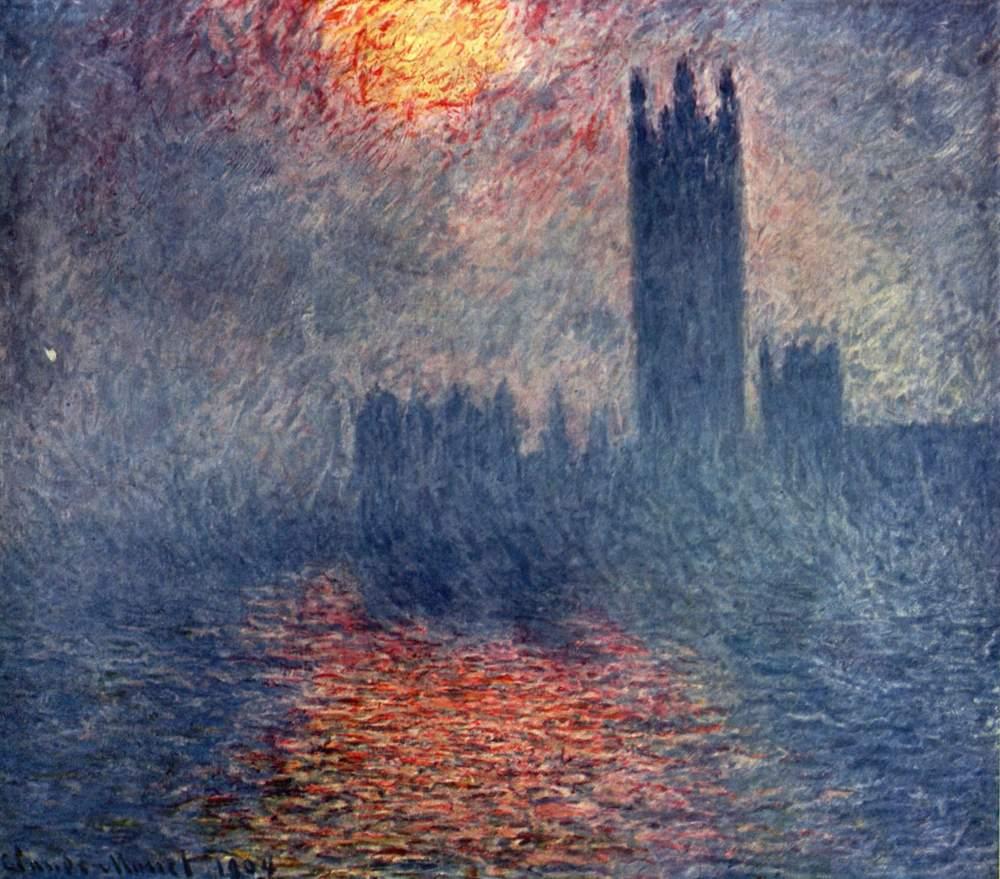 Etre myope, c'est aussi avoir le bonheur de percevoir le monde dans un grand flou, à la manière d'un tableau de Monet...