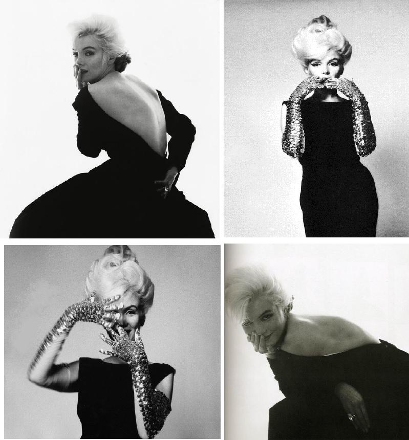 Marylin Monroe, 36 ans et à l'apogée de sa beauté, photographiée par Bert Stern une semaine avant sa mort.