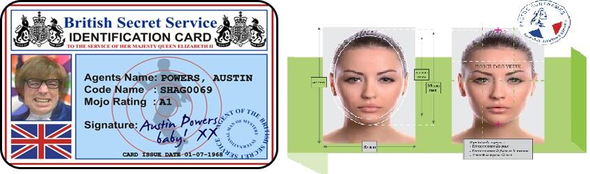 Avant 2001, on pouvait se marrer sur les passeports... Mai 2003, on est tous bons pour le musée Grévin !