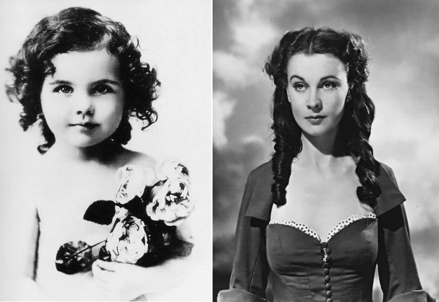 Vivien Mary Hartley en 1917. Scarlett O'Hara en 1939.