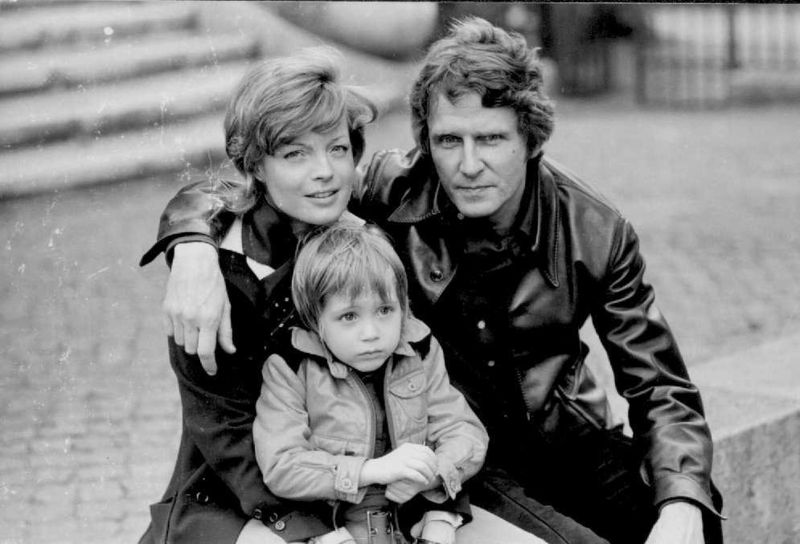 Romy, Harry et David dans les années 70.