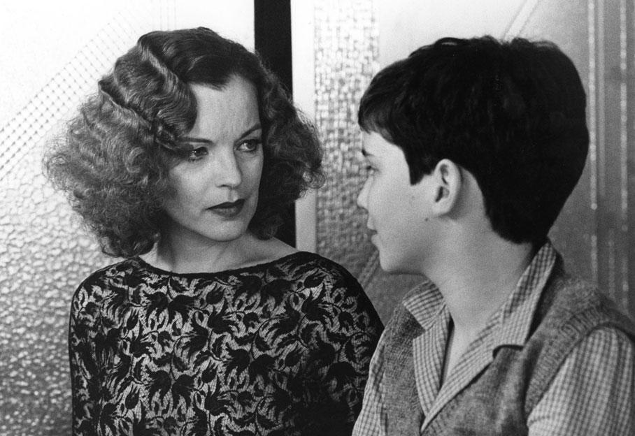 Romy Schneider et Wendelin Werner, le jeune acteur interprétait Max, le petit garçon juif protégé par Elsa Wiener. Romy venant à peine de perdre son fils, les scènes entre l'enfant et elle étaient difficiles à tourner.