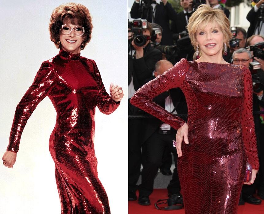 Tootsie versus Jane Fonda au Festival de Cannes. Aucune ne fera tapisserie...