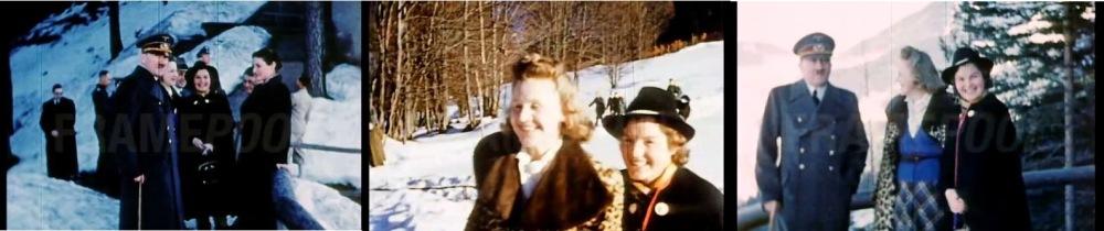 L'origine du mal : Magda Schneider visite le Berghof d'Hitler avec Eva Braun (source : Archives de l'INA)