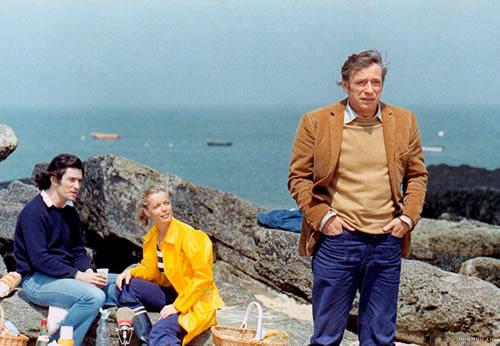La mer de Bretagne, les cirés et les emmerdes. (César et Rosalie, 1972).