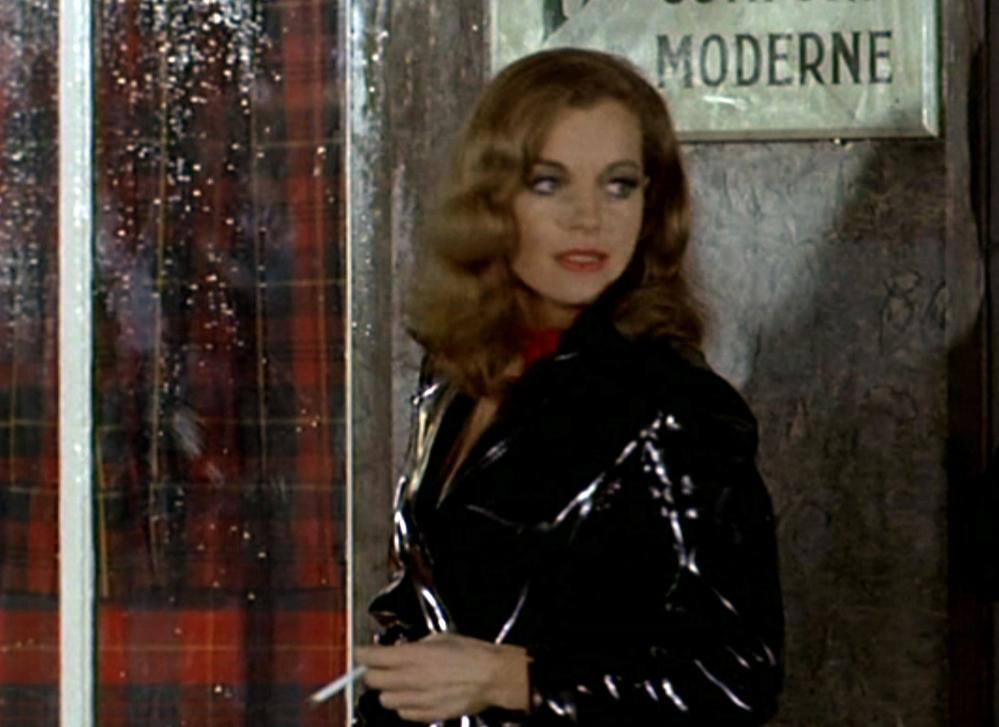 Chez Claude Sautet, il pleut souvent sur la ville et sur les âmes... (Romy Schneider dans Max et les Ferrailleurs, 1971)