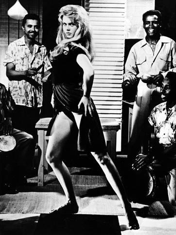 """Brigitte Bardot dans """"Et Dieu créa la femme"""" et son célèbre mambo."""
