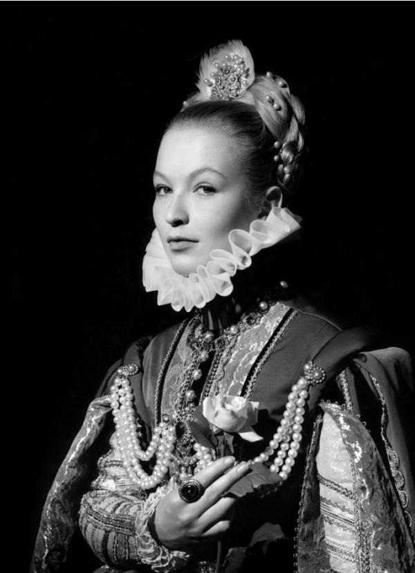 """Marina Vlady dans """"La Princesse de Clèves"""", 1961. Ou l'art et la manière du renoncement en silence."""