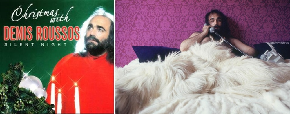 In bed with Demis Roussos ou Christmas with Demis Roussos ? Il faut choisir...