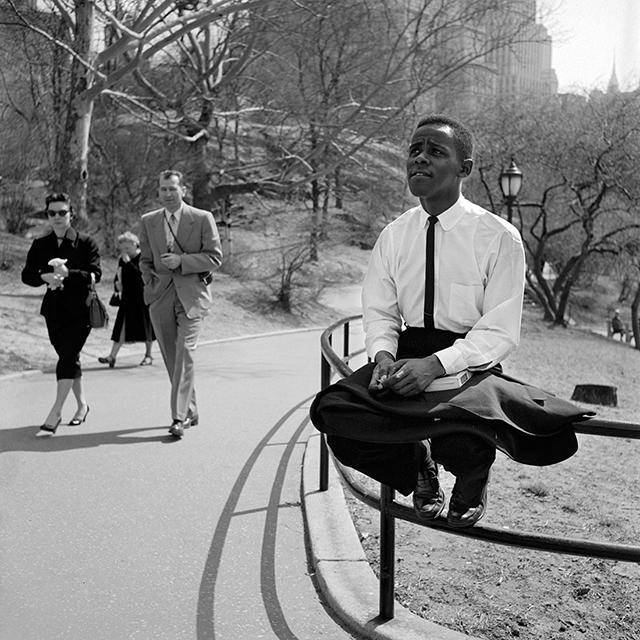 ... ou dans Central Park  (1955).