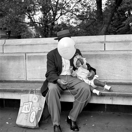 Finalement, rester anonyme a du bon... (Central Park 1954)