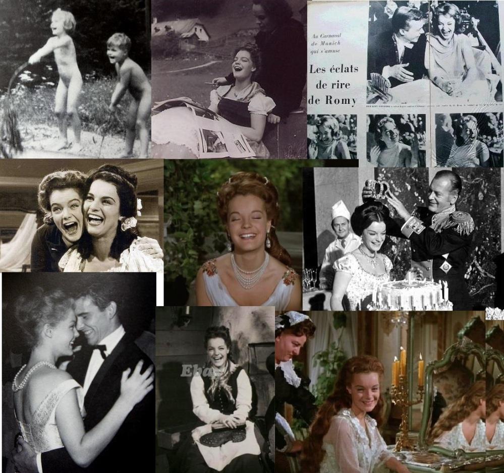 Le rire de la jeune fille dans l'univers rose bonbon de la RFA, années 50.