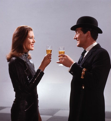 Cheers, Mrs Peel ?