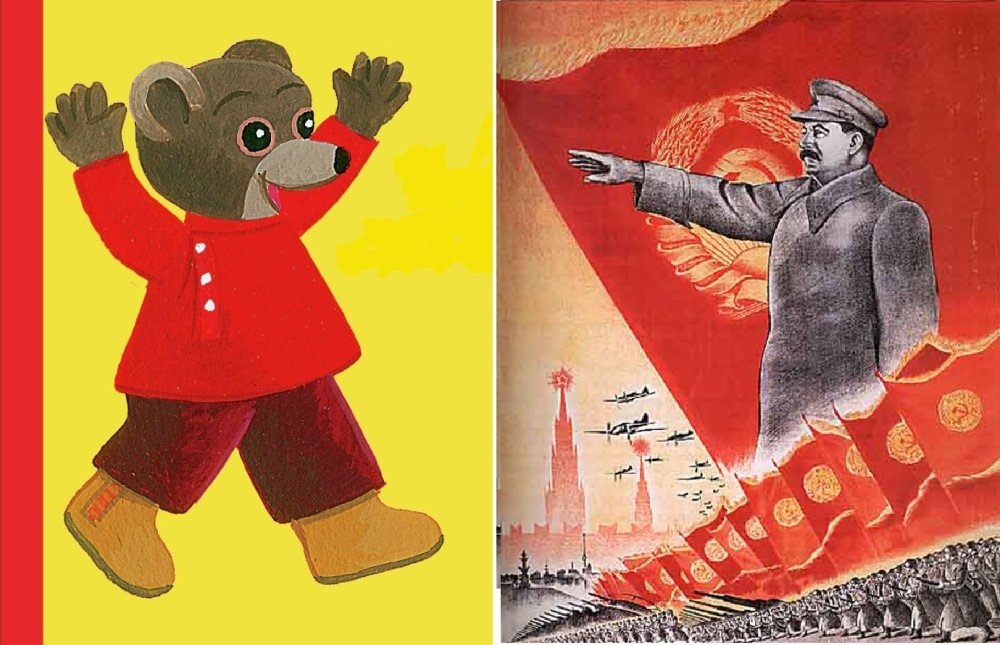 Petit Ours Brun / Staline ou la planification quinquennale en action...