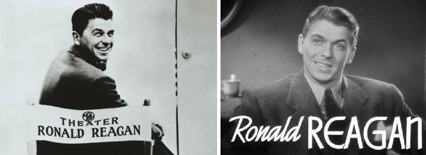 Avant la présidence, le cinéma... Ronald Reagan dans ses jeunes années hollywoodiennes.