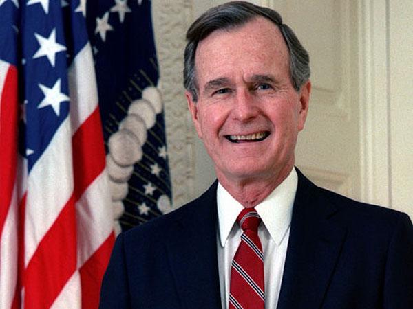 Georges Bush Senior, président de 1989 à 1993. Ad tempores, ad mores...