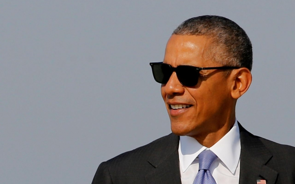Men in Black ? Non, Barack Obama... !