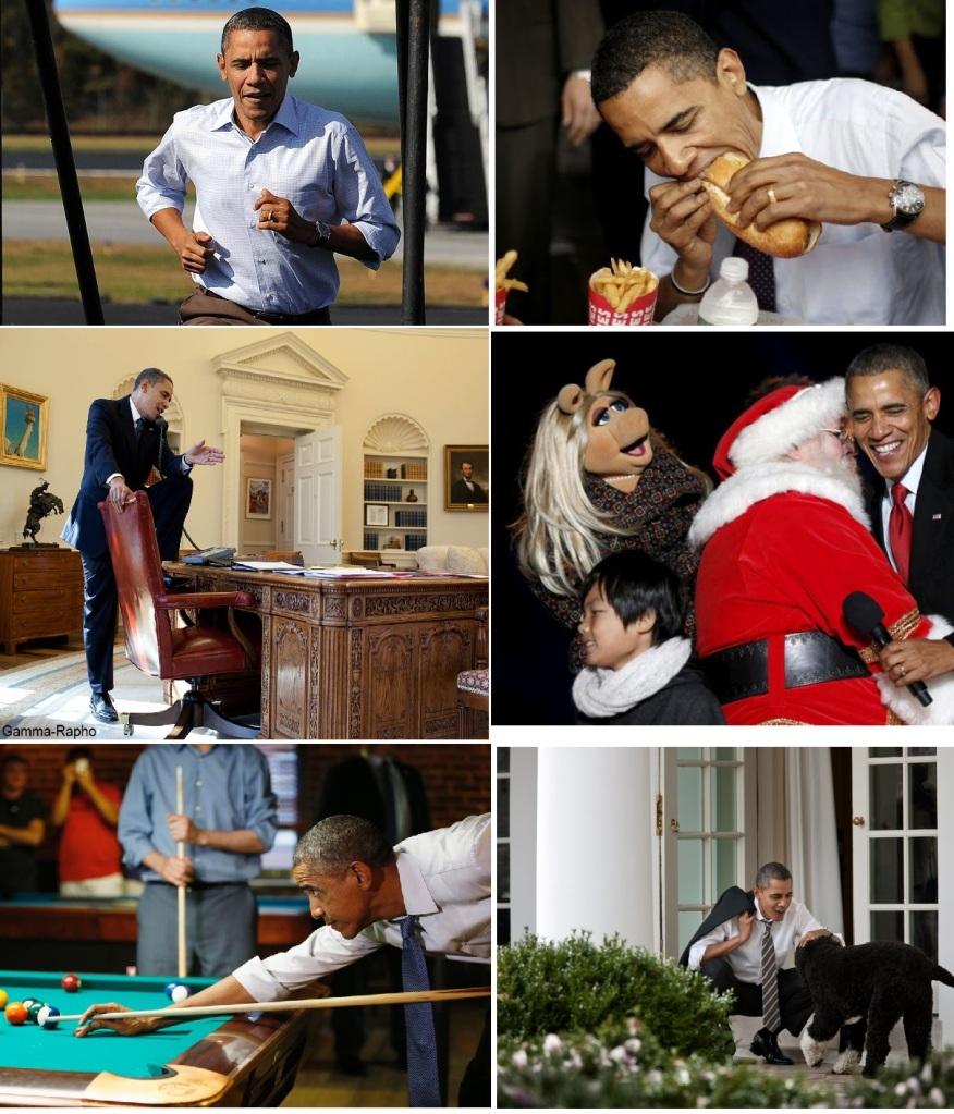 Barack Obama, classe en toute circonstance...