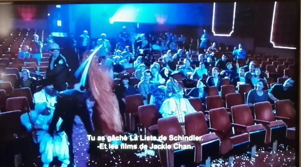 """""""L'Enfer, c'est les autres..."""" Jean-Paul Sartre. (Photo tirée du film """"Scary Movie I)"""